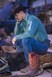Helldorado days Rodeo Royalty Free Stock Image