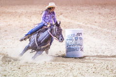 Helldorado days rodeo Stock Image