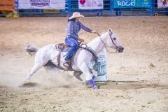 Helldorado days rodeo Stock Photo