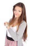 Helle Abbildung von attraktivem jungem Jugend Lizenzfreie Stockfotografie