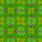 Helle abstrakte Tapeten-nahtloses Weinlese-Blumen-Muster Lizenzfreies Stockfoto