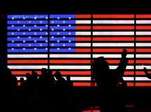 Helle amerikanische Flagge Lizenzfreie Stockfotografie