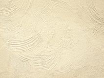 Helle Beschaffenheit einer alten Wand, beige Hintergrund für Design Lizenzfreies Stockfoto
