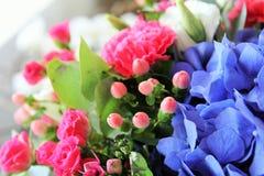 Helle Blumen Stockfoto