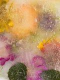 Helle Blumenabstraktion Stockfoto
