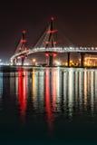 Helle Brücke Stockfotografie