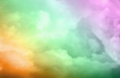 Helle bunte Farben der dynamischen und drastischen Abstraktion Lizenzfreie Stockbilder