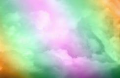 Helle bunte Farben der dynamischen und drastischen Abstraktion Stockfotografie