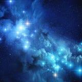 Helle entfernte Sterne lizenzfreie abbildung