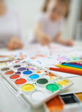 Helle Farben Lizenzfreies Stockfoto