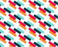 Helle farbige diagonale Linien des geometrischen Zusammenfassungshintergrundes stock abbildung