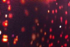Helle farbige LED-Videowand mit Hoch sättigte Muster - clos Stockfoto