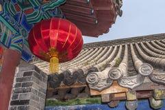 Helle farbige Lichter von der natürlichen chinesischen Seide Lizenzfreies Stockfoto