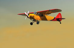 Helle Flugzeuge stockfotos
