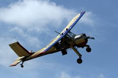 Helle Flugzeuge Lizenzfreie Stockfotos