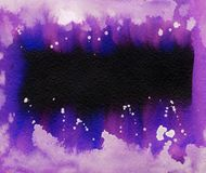 Helle gemalte Aquarellbeschaffenheit Lizenzfreies Stockfoto