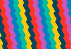 Helle geometrische Verzierung in der mexikanischen Art Stockfotos