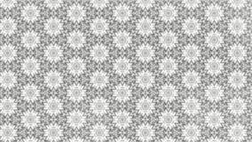 Helle Grey Floral Geometric Pattern Background-Schablone vektor abbildung