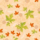 Helle Herbstgrünblätter Lizenzfreie Stockbilder
