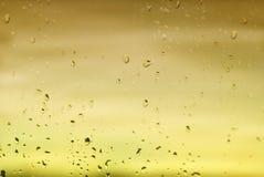 Helle Hintergrundglastropfen Stockfotos