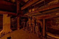 Helle Lackfabrik des Mechanismus Stockfotografie