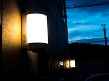 Helle Lampe Lizenzfreie Stockfotografie