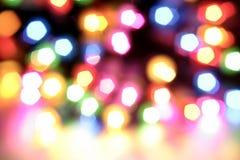 Helle Leuchten Stockbild