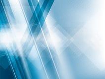 Helle Lichter auf blauem abstraktem Hintergrundvektor stock abbildung