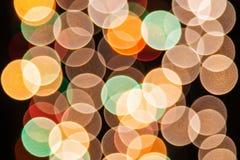 Helle Lichter im Hintergrund Stockfoto