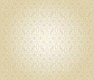Helle Luxusweinlesetapete Braut, Gold, hell, Hochzeit, stock abbildung