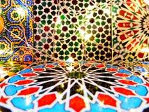 Helle marokkanische dekorative Fliesen stockfotos