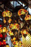 Helle mehrfarbige Lampe Lizenzfreie Stockfotografie