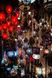 Helle mehrfarbige Lampe Lizenzfreie Stockbilder