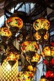 Helle mehrfarbige Lampe Lizenzfreies Stockbild