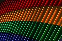 Helle Neonleuchten Stockbilder