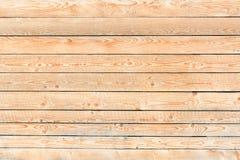 Helle neue Bretter Horizontale Anordnung Nahaufnahme lizenzfreie stockbilder