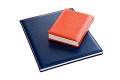 Helle Notizbücher Stockbild
