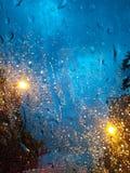 Helle Reflexion des Regens Lizenzfreie Stockfotografie