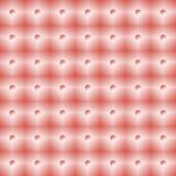 Helle rosa Fliesenwand mit nahtlosem Muster der kleinen Scheinwerfer lizenzfreie abbildung