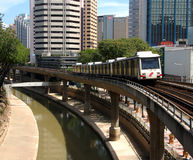Helle Schienendurchfahrt für Kuala Lumpur2 Stockbild