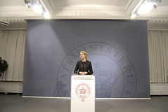 HELLE THORNING-SCHMIDT Stock Photo