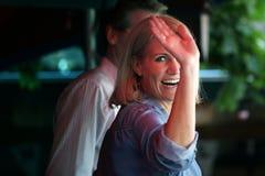 Helle Thorning-Scmidt Büro af dänischen Premierminister lassen lizenzfreies stockbild