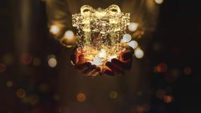 Helle und glänzende Weihnachtsanimationen stock abbildung