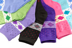 Helle weibliche Socken Lizenzfreies Stockbild