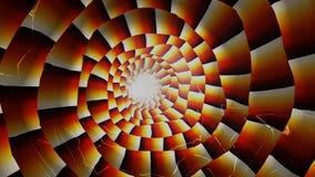 Helle Zeilen der abstrakten Farbe Stockbild