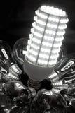 Helle Zukunft der LED Stockfoto