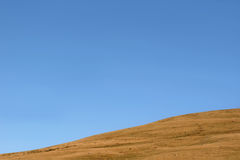 Hellende Horizon stock fotografie