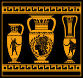 Hellenic jugs Royalty Free Stock Photo