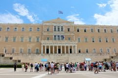 The Hellenic Parliament, Athens, Greece Stock Photography