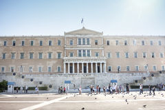 Hellenic Parliament building Stock Images